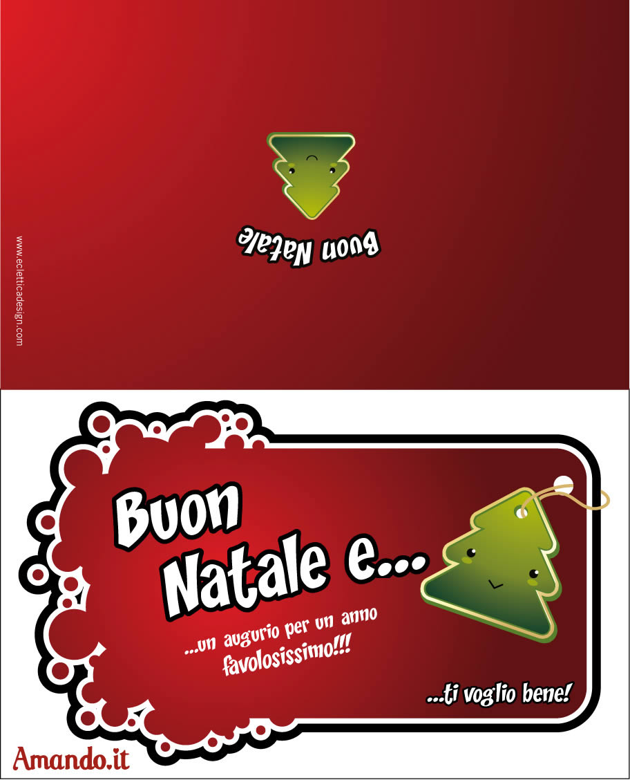 Stampa Biglietti Di Natale.Biglietti Di Natale Da Stampare Per I Tuoi Auguri