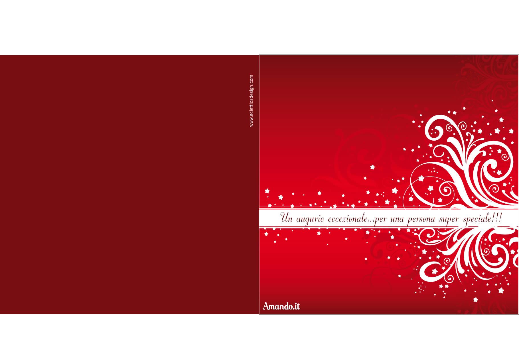Preferenza Biglietti di Natale da stampare per i tuoi auguri UG61