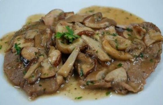 Nodino di vitello ai funghi for Secondi di carne