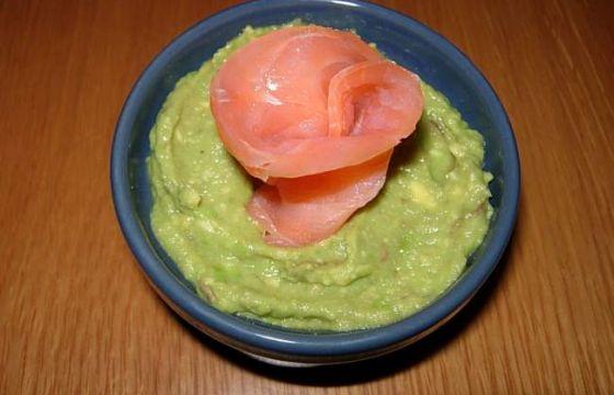 Ricetta Guacamole E Salmone.Antipasto Con Avocado E Salmone