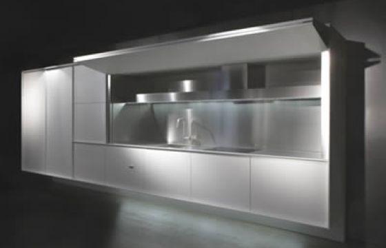 Cucina che scompare soluzioni abitativa salvaspazio - Sesso in cucina ...