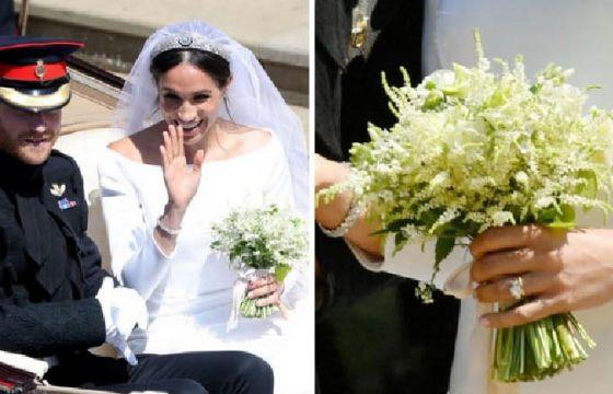 Bouquet Sposa Kate Middleton.Bouquet Da Sposa Di Meghan Markle