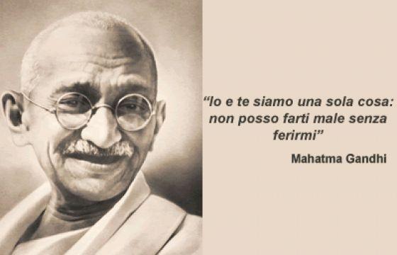 Frasi Matrimonio Gandhi.Mahatma Gandhi La Grande Anima Della Non Violenza
