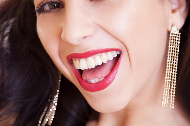Avere  un bel sorriso