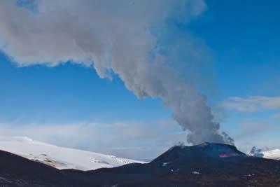 Nube  vulcano Islanda