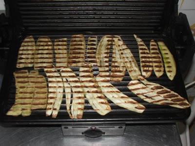 Cottura melanzane alla griglia