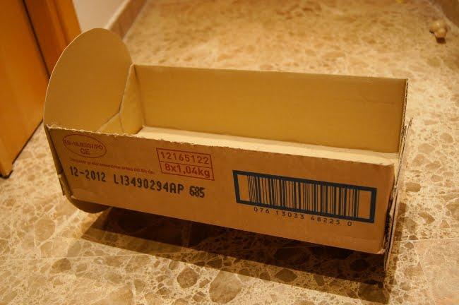 Как сделать кроватку из коробки для обуви