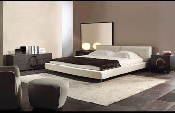 I colori per le pareti della camera da letto - Colori pareti camera da letto moderna ...