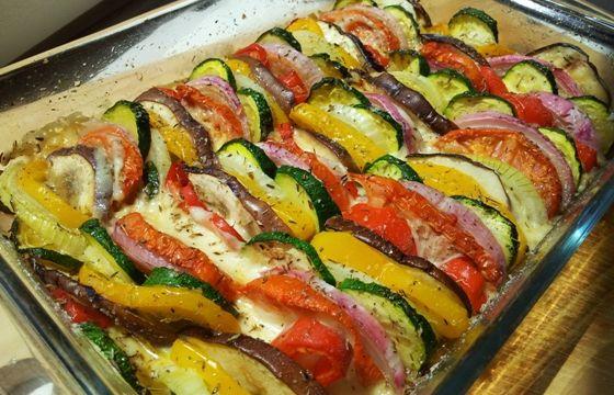 Teglia di verdure estive al forno for Ricette con verdure