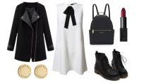 Look della settimana: 90s black&white