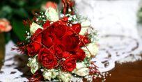 Bouquet da sposa per matrimonio a Natale