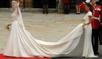 Tipi di strascico per l'abito da sposa