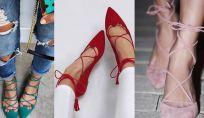 Scarpe primavera estate 2016: le lace up shoes