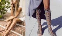 Scarpe moda primavera estate 2016: i sandali alla schiava