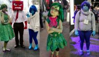 Carnevale: costume da personaggi di Inside Out
