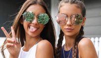 Occhiali da sole specchiati estate 2016