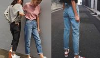 Mom jeans: come abbinarli?