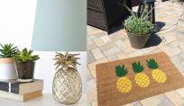 Arredare casa con gli ananas