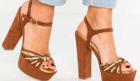 Scarpe con tacco alto per l'estate 2017: la tendenza femminile