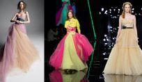 Vestiti da sposa colorati per il 2019