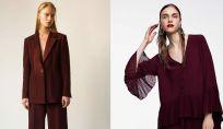 Colore moda bordeaux inverno 2019