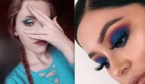 Trucco occhi blu: trend make up P/E 2019