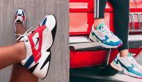 Sneakers chunky color block primavera estate 2019