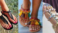Abbinamenti colore smalti e sandali
