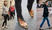 Look con scarpe ballerine