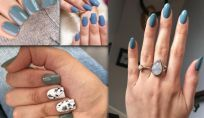 Grey alpaca il colore trendy per le unghie in questo autunno 2019
