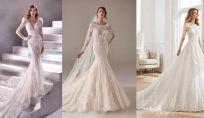 Abiti da sposa in pizzo 2020: per chi sogna un matrimonio romantico