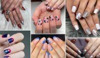 Stelle e argento: trend per le unghie