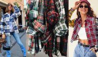Camicie a quadrettoni inverno 2021