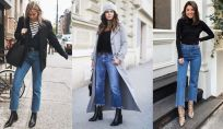 Look con straight jeans