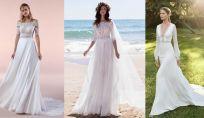 Vestiti da sposa boho chic 2020