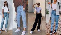 Straight jeans primavera 2021