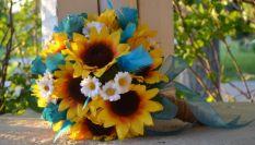 Bouquet con girasoli, 20 idee per il tuo matrimonio