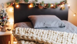 A Natale perché non addobbare anche la camera da letto?