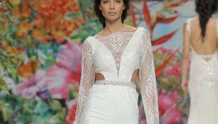 Tendenze bridal: Abiti da sposa 2017 cut out