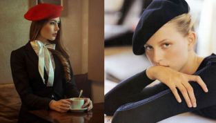 Il berretto alla francese, un accessorio ritornato di moda