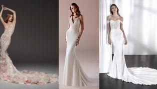 Abiti da sposa a sirena 2019: i vestiti più intriganti dell'anno