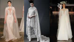 Mantelle e cappe, accessori bridal del 2019
