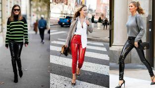 Come abbinare i pantaloni in vinile: consigli fashion