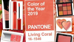Make up living coral: fresco e femminile!
