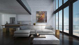 Come arredare le pareti di casa con i quadri giusti