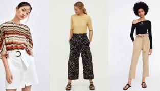 Tendenza paper bag: pantaloni e gonne a sacchetto primavera estate 2019
