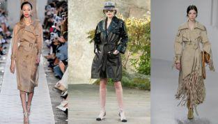 Trench primavera estate 2018: le reinterpretazioni degli stilisti