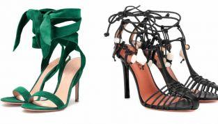 Sandali lace up 2019: calzature intriganti e femminili per l'estate