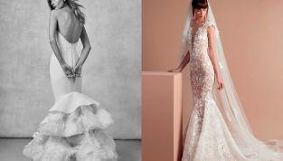 Abiti da sposa a sirena: i modelli più belli del 2018