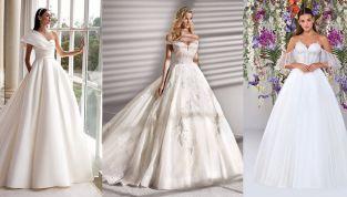 Abiti da sposa principeschi 2020: i modelli più belli delle collezioni